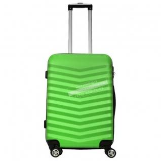Monopol Пластиковый чемодан Monopol Bora - green (M)