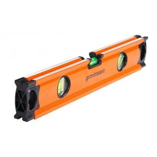Уровень GRAVIZAPPA UST400A 400мм, 3 глазка, точность 0.5мм/м-1209969