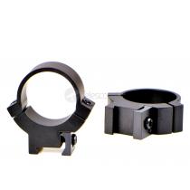 Кольца Warne 7.3/22 на ласточкин хвост, 25.4 мм, Medium (721M)