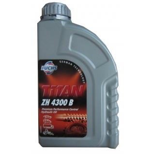 Жидкость для ГУР, гидроприводов сцепления и КПП Fuchs TITAN ZH 4300 B, в канистре - 1л-4951650