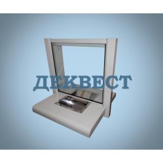 Передаточное кассовое окно ПУ-1Н (неподвижный лоток).