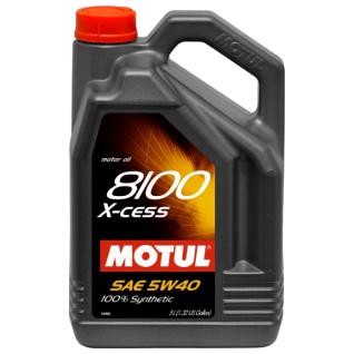 Моторное масло MOTUL 8100 X cess 5w-40 A3/B4 5л.