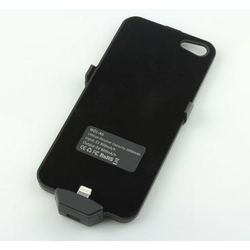 Чехол зарядка для iphone 5/5s 2500mAh-5246028