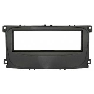 Переходная рамка Intro RFO-N11 для Ford Focus 2 рестайл, Mondeo (08+) C-Max, S-Max, Galaxy new (07+) 1DIN Black Intro-835020