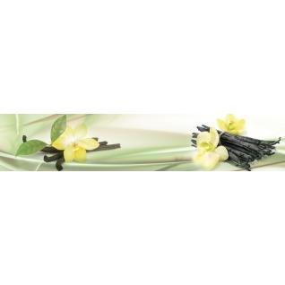 Фартук для кухни АБС Цветы ванили №32 600х3000х1,5мм-37623229