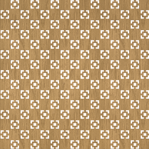Декоративная решетка Presko Техно 60х120-6768380