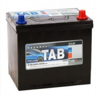 Автомобильный аккумулятор TAB TAB POLAR S 60R 600А обратная полярность 60 А/ч (230x168x220)
