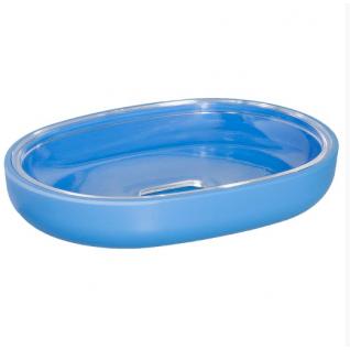 Мыльница Duschy Plastic blue 311-04