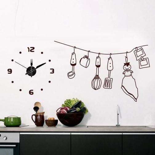 Часы-наклейка Feron NL35-8692037