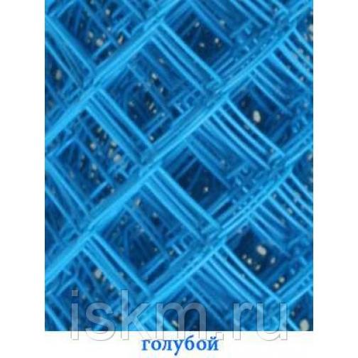 Сетка Рабица цветная Голубой 213840