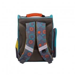 Школьный рюкзак Монстрик Гошик (серый) Gulliver рюкзаки-37897839