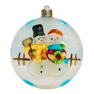 Световая фигура Feron LT050 Ёлочная игрушка со снеговиками-8225915