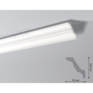 Карниз из полистирола под покраску NMC Nomastyl Plus AT 2000x100x95-36983093