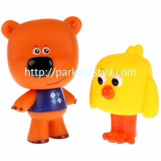 Игрушки пластизоль для купания Играем вместе Мимимишки (Цыпа и Кеша)-37700608