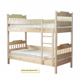 Кровать двухъярусная Сосна-5125453