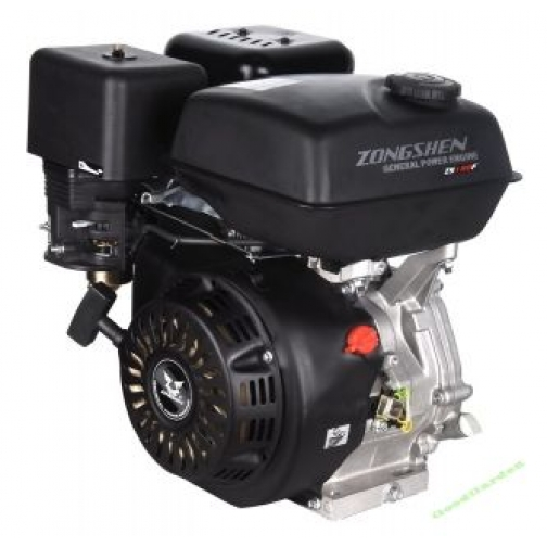 Бензиновый двигатель Zongshen 188F с катушками освещения-6819099