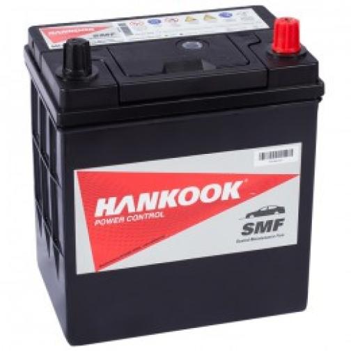 Автомобильный аккумулятор HANKOOK HANKOOK 40L (46B19R) 370А прямая полярность 40 А/ч (186x126x225)-6648958