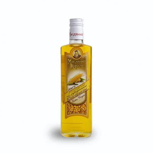 Масло из зародышей кукурузы «Масляный король», 0.35 л, стекло-822551