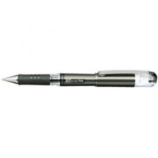 Ручка гелевая Pentel Hybrid gel Grip DX, черный, 0,7мм, К227-А