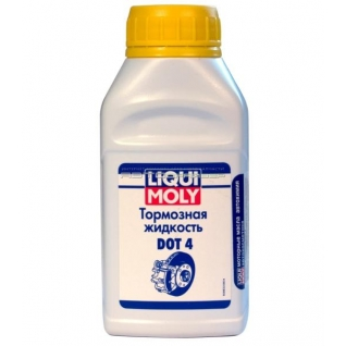 Тормозная жидкость LIQUI MOLY Bremsenflussigkeit DOT-4 0,25 литров