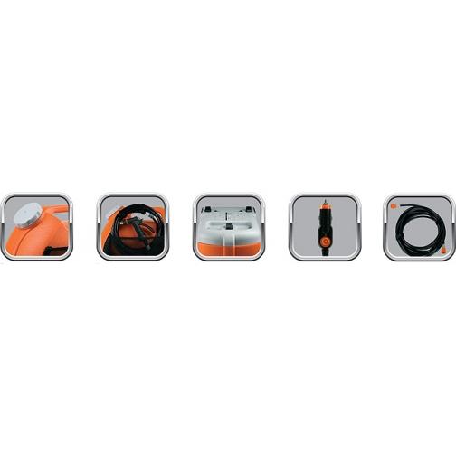 Минимойка портативная BERKUT Smart Washer SW-15 (2л/мин, 12В, 60Вт, 15л) Berkut 833059 2