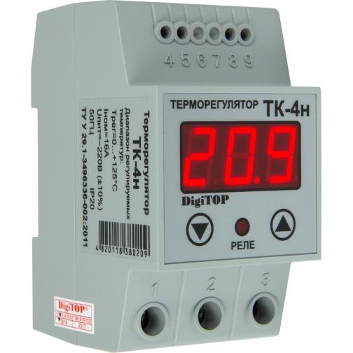 Терморегулятор DigiTOP ТК-4н (крепление на DIN-рейку)-6775760