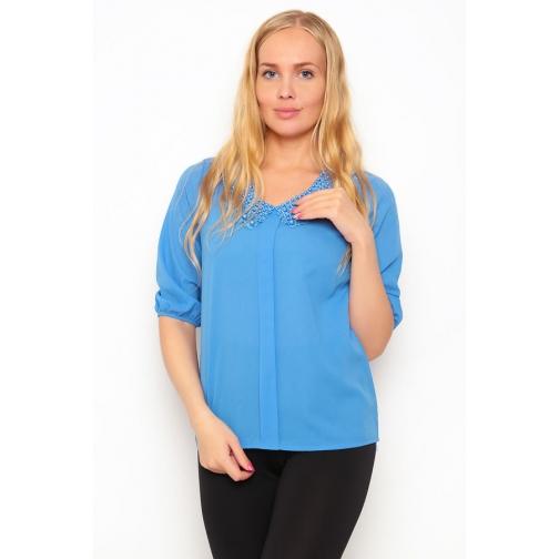 Блуза рукав 3/4 46 размер-6686990