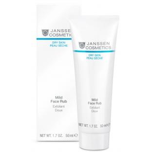 Janssen Mild Face Rub - Мягкий скраб с гранулами жожоба