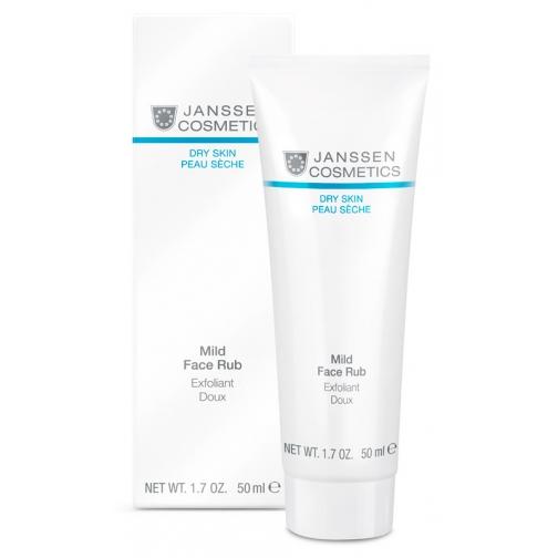 Janssen Mild Face Rub - Мягкий скраб с гранулами жожоба-4943126
