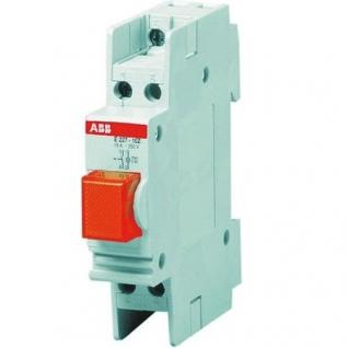 ABB Выключатель ABB красная подсветка E227-11C (2CCE110820R0011)