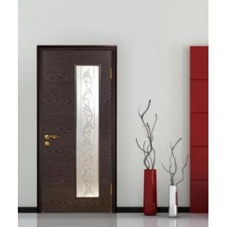 Дверное полотно МариаМ Альфа ПУ лак остекленное 600-900 мм