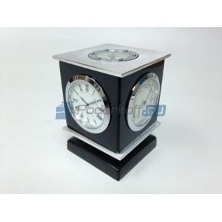 """Прибор настольный """"Черная башня"""" (часы, термометр, гидрометр, компас)-5865107"""