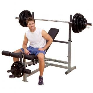 Body Solid Тренажер GDIB-46L Силовая скамья для жима