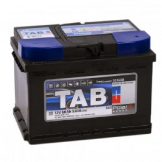Автомобильный аккумулятор TAB TAB POLAR S 60R (низкий) 550А обратная полярность 60 А/ч (242x175x175)-6073195