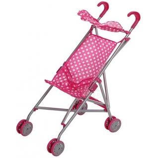 Коляска MELOBO 9302S трость для кукол розовый-37125136