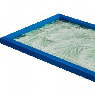 Рамка 21х30см деревянная, профиль №2, цвет ?синий?