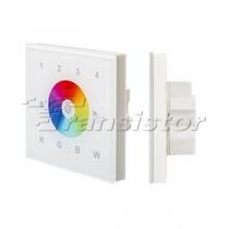 Arlight Панель Sens SR-2812-IN White (12-24V,RGBW,DMX,4зоны)