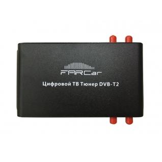 Цифровой автомобильный ТВ тюнер DVB-T2 FarCar (4 антенны) FarCar-6826434