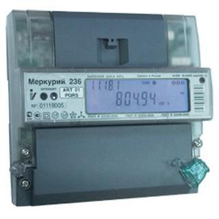 Электросчетчик Меркурий 236 АRТ-02 PQL-1427455