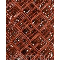 Сетка Рабица цветная Бордовый