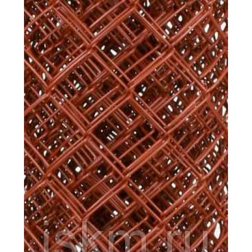 Сетка Рабица цветная Бордовый 213844