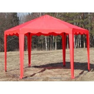 Беседка тент-шатер 6 граней по 2 м.(S=10.3 кв.м)-828785