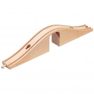 Деревянный виадук с аркой для ж/д Brio-37707649