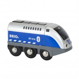 """Игрушечный паровозик на ИК-управлении """"Оскар"""" (на бат., свет, звук) Brio-37707732"""