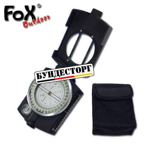 Fox Outdoor Компас Prazision, цвет черный-8088150