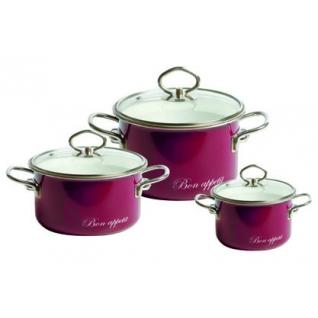 Набор эмалированный 3 предмета №08 Bon Appetit-37651127
