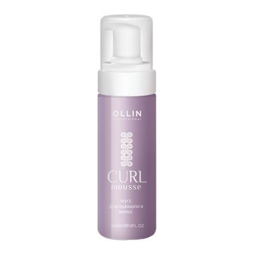 Ollin Professional Curl Hair Building Mousse - Мусс для создания локонов-4942621