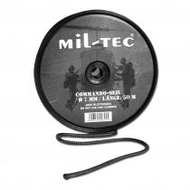 Mil-Tec Канат Кommando черного цвета 7 мм, 50 м