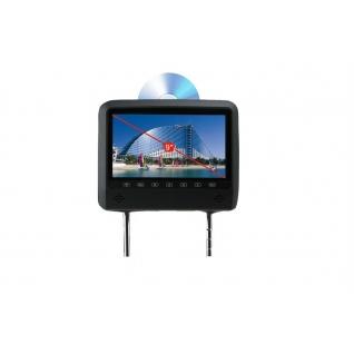"""Подголовник с монитором 9"""" и встроенным DVD плеером FarCar-Z007 (Grey)-36994962"""