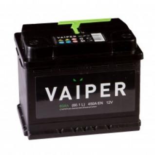 Автомобильный аккумулятор VAIPER VAIPER 60L 480А прямая полярность 60 А/ч (242x175x190)-5789243
